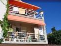 Apartman  / studio 4 - Soba sa 3 kreveta, kupatilom, SAT TV, mini kuhinja na balkonu / lođi, pogled na vodički zaljev, Srimu i Šibenik